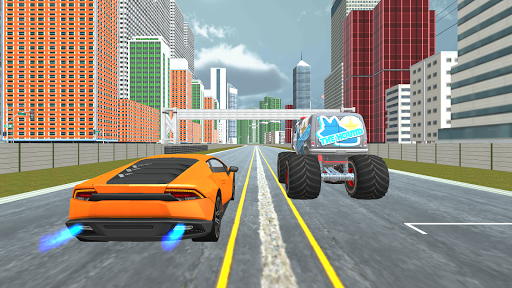 Curved Highway Car Racer Game 1.0.6 screenshots 2
