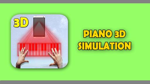 Piano Projector Hologram Prank
