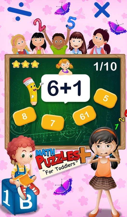 Math Puzzles For Toddlers- screenshot