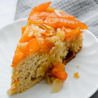 Apricot-almond Upside-down Cake