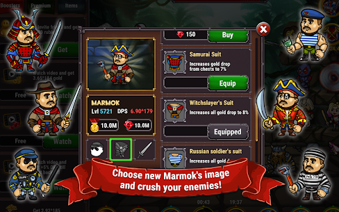 Marmok's Team Monster Crush Mod Apk Download For Android and Iphone 6