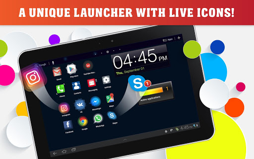 Launcher Live Icons for Android 2.38.02 screenshots 6