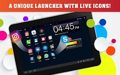 screenshot of Launcher Live Icons for Android