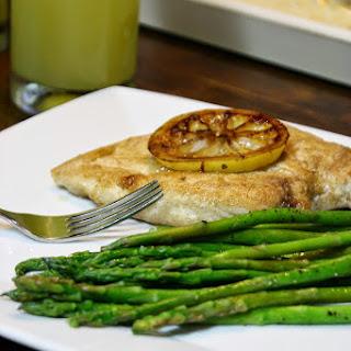 Skillet Lemon Chicken With Asparagus