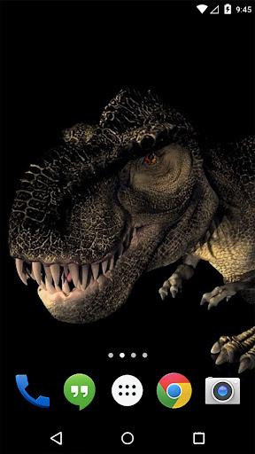 ディノT-Rexの3Dライブ壁紙