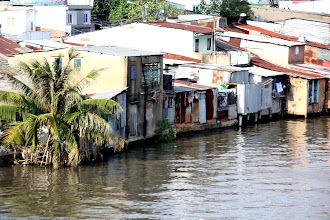 Photo: Year 2 Day 29 - Living on the River on the Way Out of Saigon