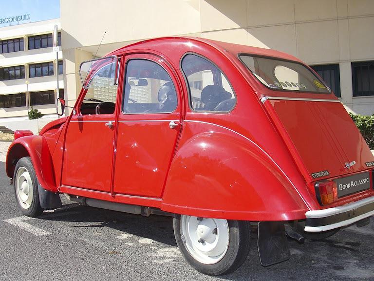 Citroen 2 Cv Hire Lisboa