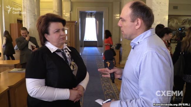 Ірина Єфремова – народний депутат з фракції «Народний фронт» і член регламентного комітету