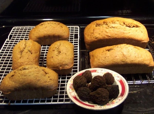 Zucchini,black Walnut  Bread ...(no Yeast) Recipe