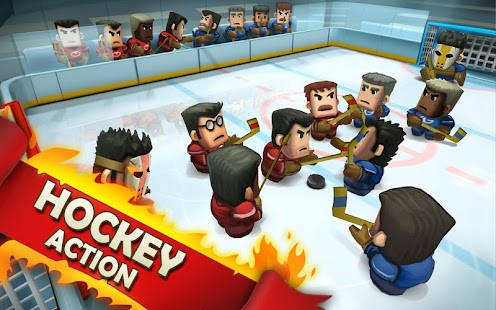 Ice Rage: Hockey Multiplayer game Screenshot