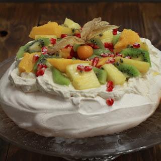 Exotic Fruit Pavlova.