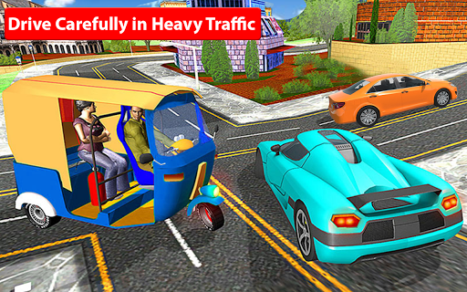 Rickshaw Driving Simulator - Drive New Games screenshots 7
