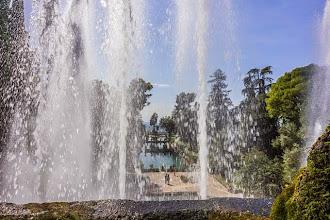 Photo: Views of the Fishing Ponds (Peschiere) from the Organ Fountain (Fontana dell'Organo) in Villa d'Este in Tivoli, Lazio, Italy