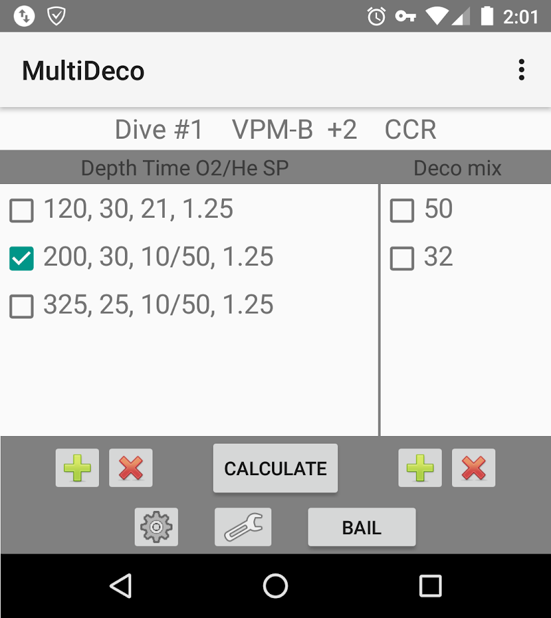 MultiDeco- screenshot