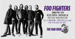 Foo Fighters @ Resch Center - PartyBus to Green Bay