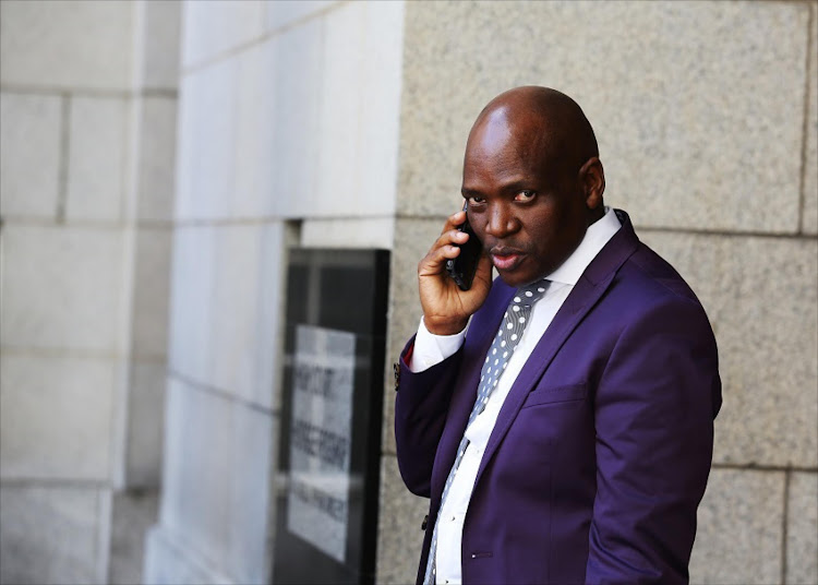 Former SABC executive Hlaudi Motsoeneng.