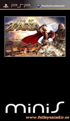 Hero of Sparta PSP