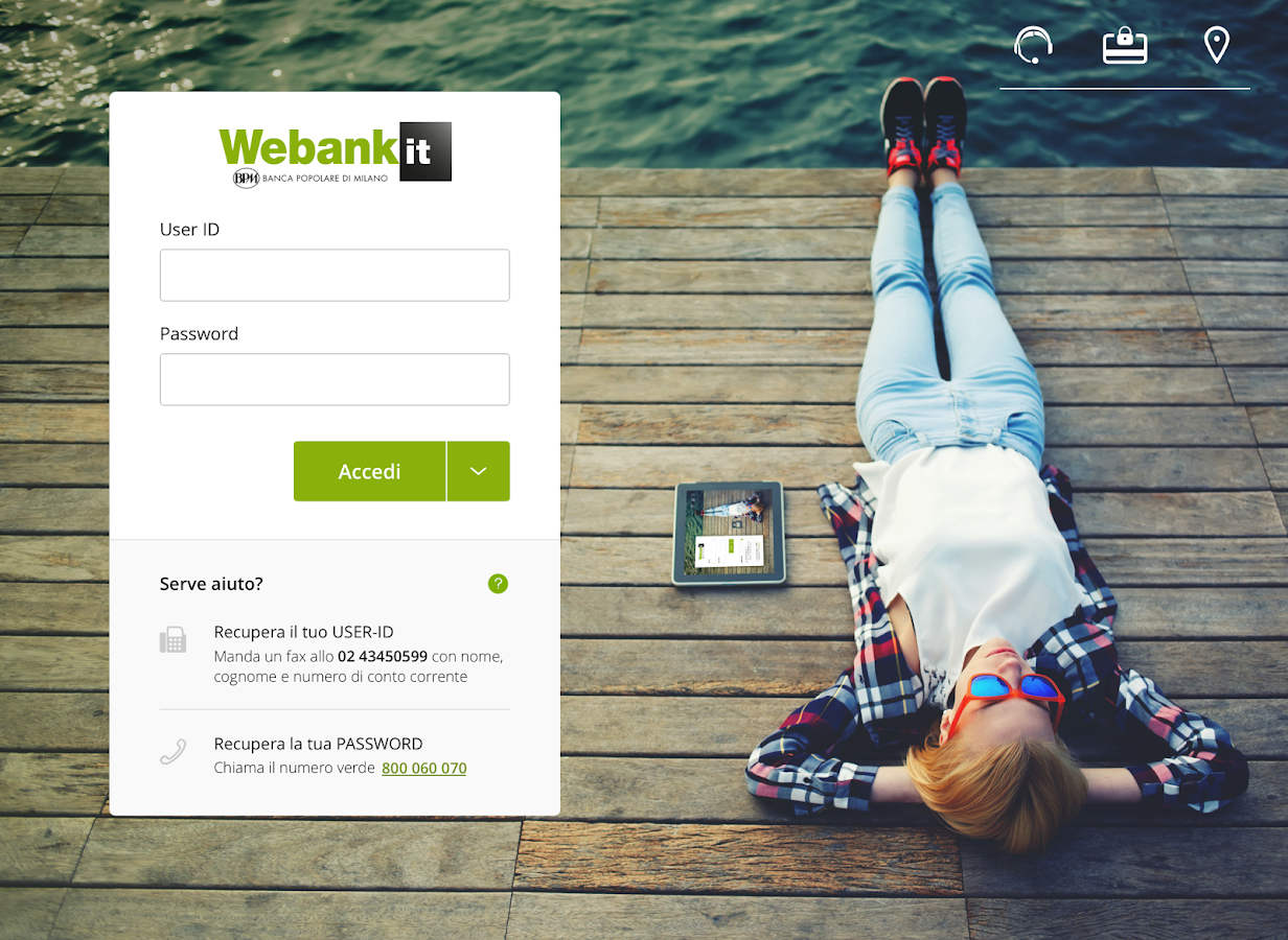 Webank- screenshot