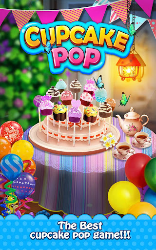 Cupcake Pop Maker Sweet Game