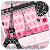 Pink Paris Rose Keyboard Eiffel Tower Theme file APK for Gaming PC/PS3/PS4 Smart TV