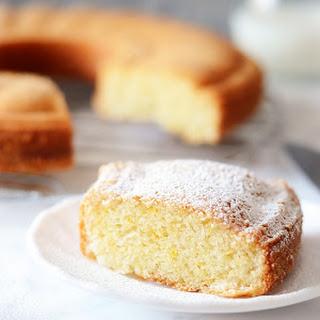 Eggless Sponge Cake.