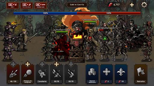 Code Triche King's Blood: La Défense apk mod screenshots 4