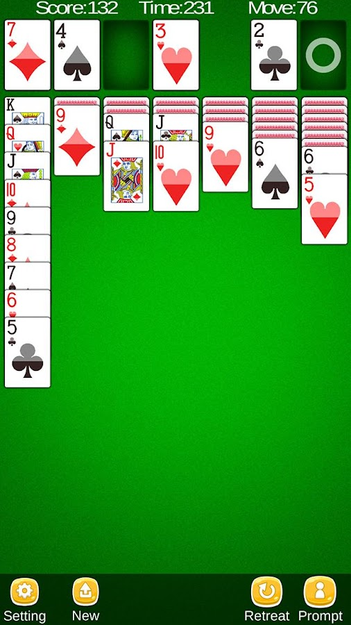 how to play solitaire in messenger