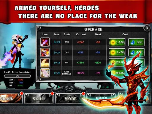 game stickman legends ninja warrior shadow war mod apk