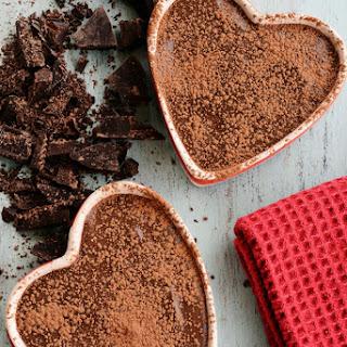 Lightened Up Toasted Hazelnut Chocolate Pots