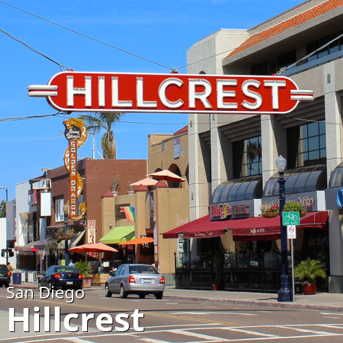 San Diego's Hillcrest neighborhood