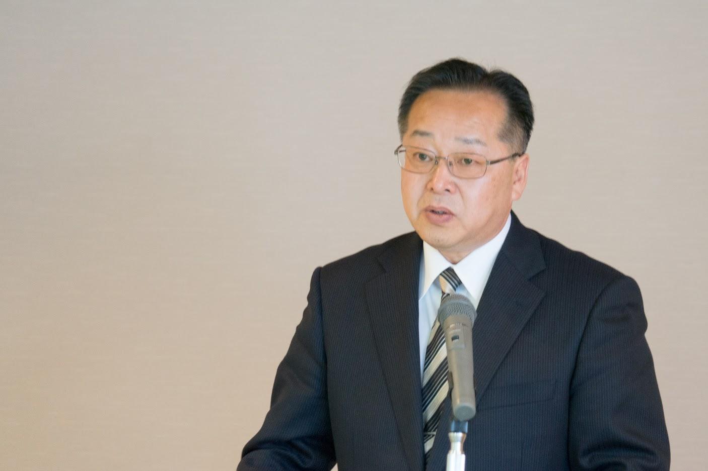 開会挨拶・御礼のお言葉:藤井雅仁理事長