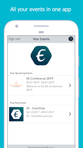 EE - EventHub 1.5.11 Apk for Android 3