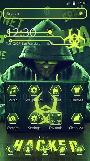 Secret Hacker Launcher Theme 1.1.5 screenshots 2