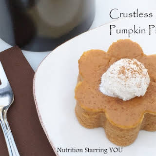 Crustless Mini Pumpkin Pies.