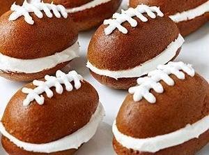 Pumpkin Football Cakes Recipe