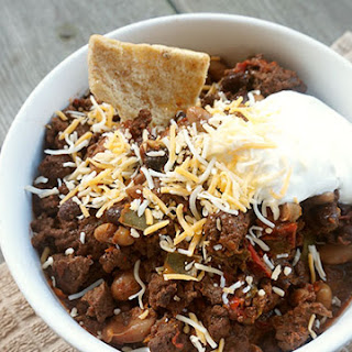 Chocolate Chili #Choctoberfest