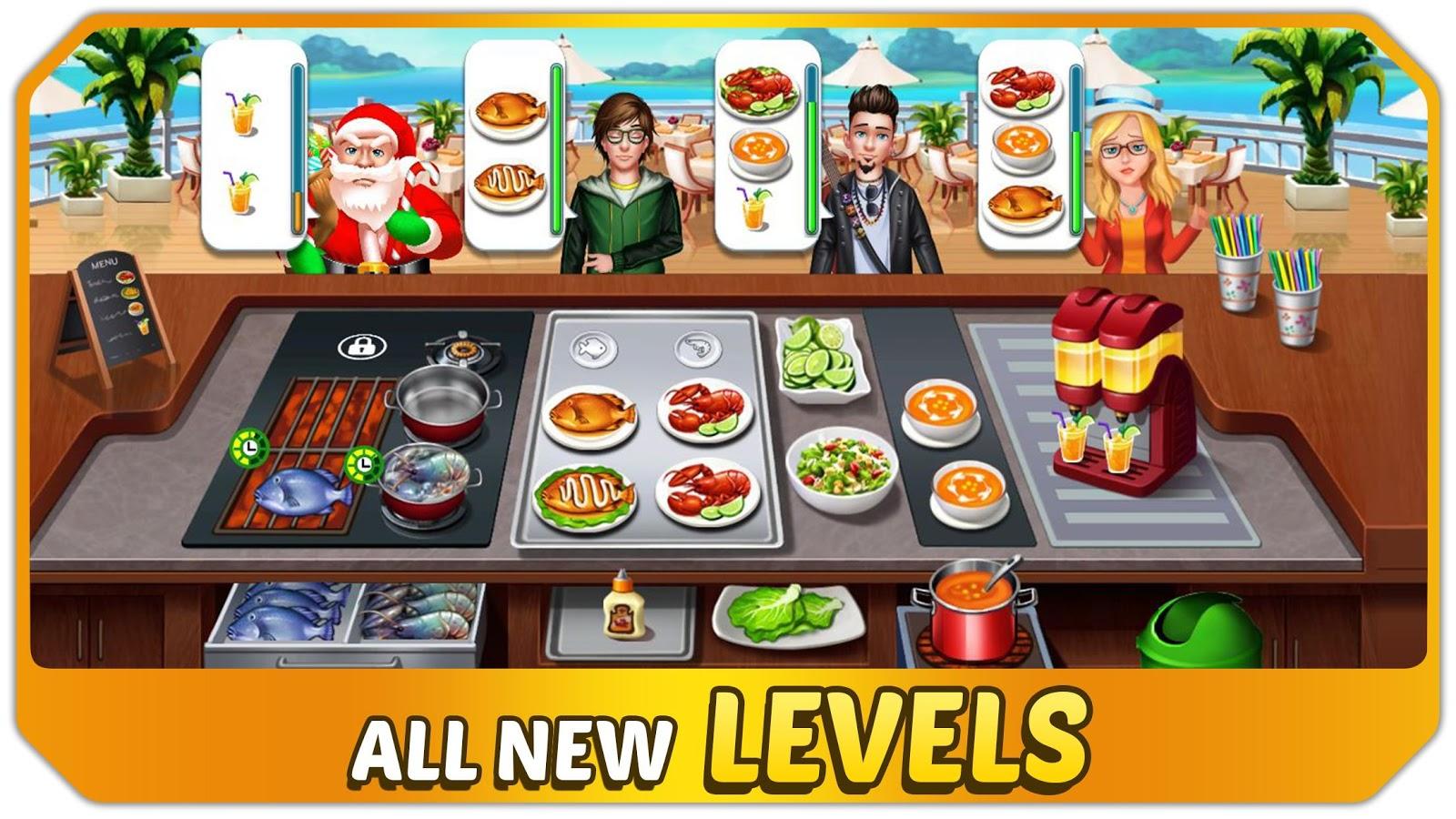 Fast Food Kitchen Game