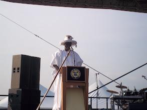 Photo: Governor Babatunde Fashola giving his closing remark