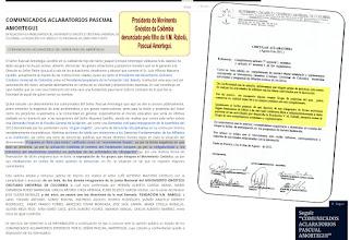 """Photo: Filho do Mestre Rabolú denuncia o presidente do MGCU da Colômbia, a FUNDAÇÃO V.M. RABOLÚ, bem como o seu PROGRAMA UM LIVRO PARA TODOS.  O presidente vitalício da Fundação V.M. Rabolú e também presidente do ilegítimo MGCU da Colômbia, Sr. Luiz Alfonso Mazuera Castillo, chega a determinar por carta-circular à toda sua comunidade de que nenhum grupo gnóstico está isento de realizar atividades de difusão de livros, OBRIGANDO-OS em participar das atividades de divulgação, posto que sem este cumprimento o grupo de prática não teria mais amparo jurídico, dentre outras coisas que andou inventando para a Assembléia Geral aprovar, mesmo que contrário aos estatutos etc.  Queremos que o leitor amigo saiba que isto tudo aí ataca diretamente os princípios esotéricos cristãos gnósticos e vai FRONTALMENTE CONTRA o V.M. Rabolú.  Nos Comunicados Aclaratórios de PASCUAL AMORTEGUI, filho do V.M. Rabolú, vemos escrito:  """"...así como una serie de denuncias públicas que desde destintos frentes dejan claro la situación del denominado """"Programa un libro para todos"""" calificado como um """"monumental fraude"""", ya por la obrigatoriedade a los miembros del Movimento Gnóstico en participar de las actividades de divulgación..."""""""