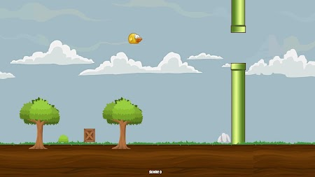 Flappy bird APK screenshot thumbnail 17