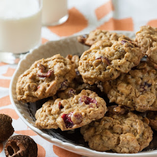 Black Walnut, Cranberry and White Chocolate Cookies