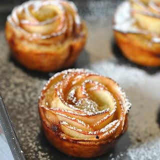 Apple Rose Pastries.