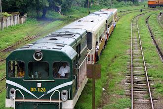 Photo: Year 2 Day 54 - Trains in Yangon