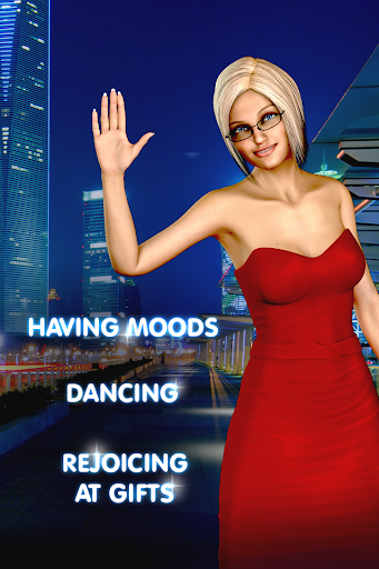 Pocket Blonde Cyber Girlfriend 2.1.80 screenshots 5