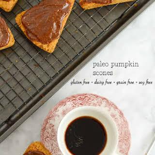 Gluten Free Pumpkin Scones.