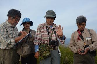 Photo: Yukito Nakamura, Nanako Suzuki, Ken Sato and Masaaki Takyu on Gamov peninsula