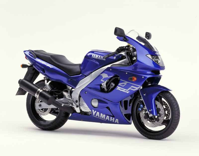 yamaha YZF 600 R Thundercat-manual-taller-despiece-mecanica