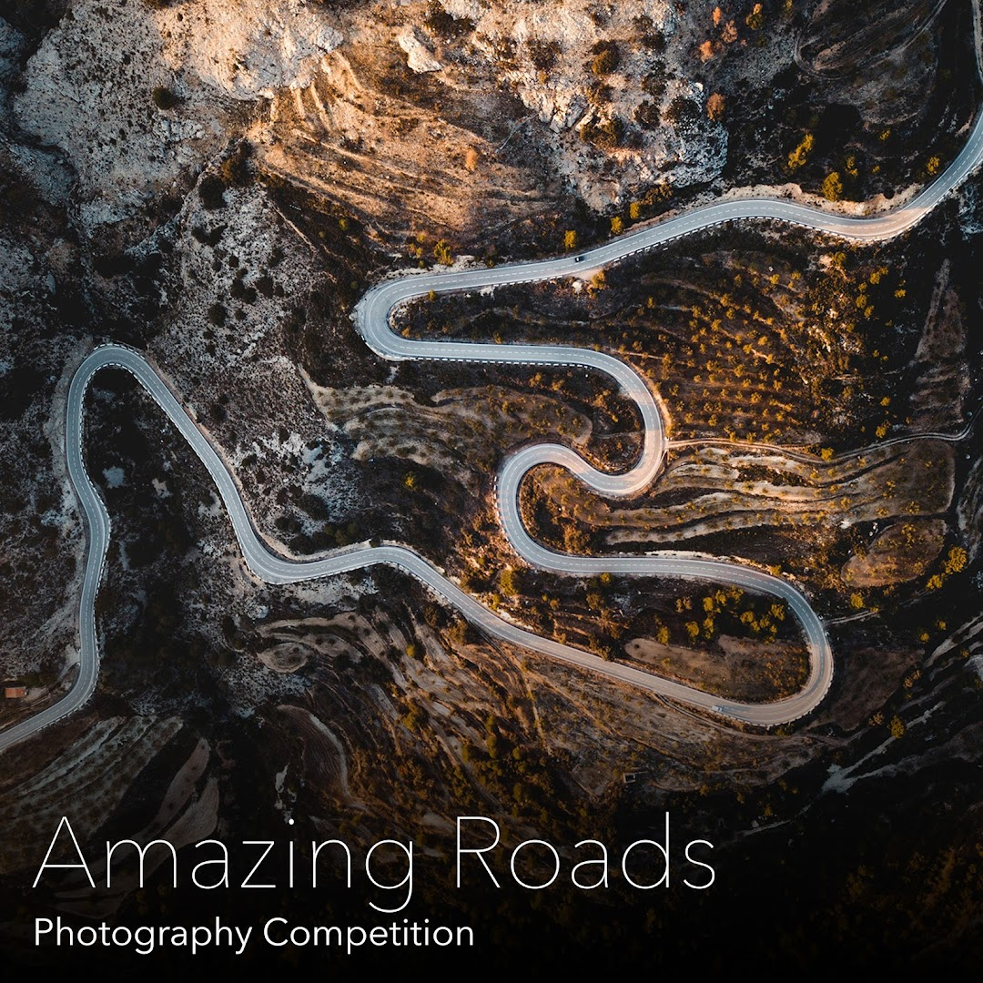 Amazing Roads  Photography Competition. Capture and submit photos of amazing roads from around the world.