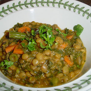 Green-Lentil Curry