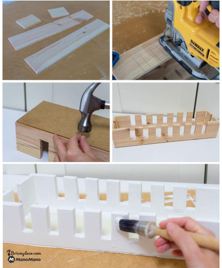 caja para organizar los cables